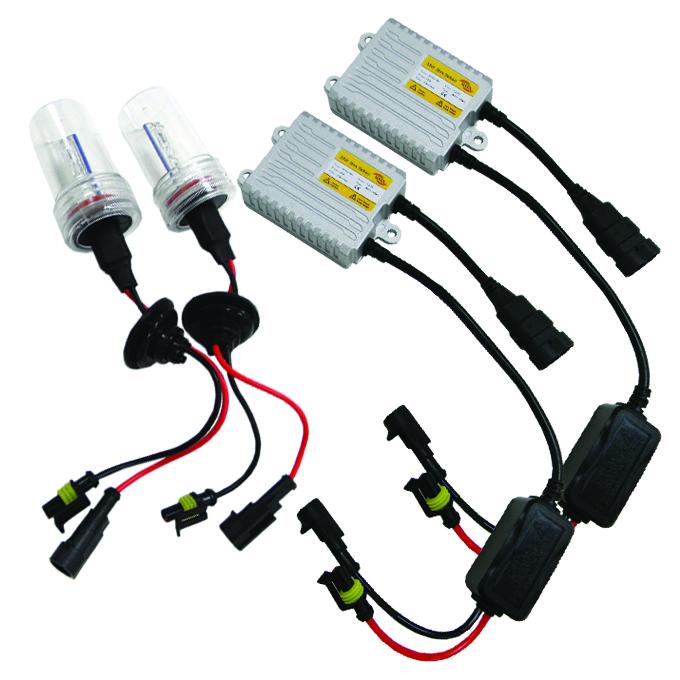 8000K WHITE HID XENON CONVERSION KIT+H3 BULBS FOG LIGHTS//LAMP//BEAM+THICK BALLAST